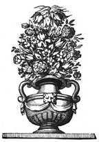 17th century vase of flowers
