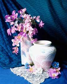 Silk Flower Arrangement Containers — Vases