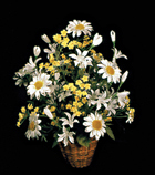 DAISY SILK FLOWER ARRANGEMENT