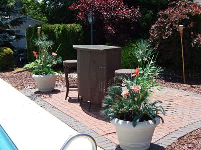 Outdoor artificial flower landscaping ideas mightylinksfo