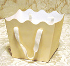 Sturdy Paper Floral Basket