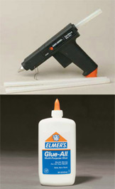 Hot Glue Gun / Elmers Glue