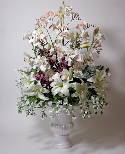 How to make silk flower arrangements like a pro almost - Silk flower arrangement ideas ...