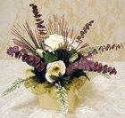 EASY SILK FLOWER CENTERPIECE