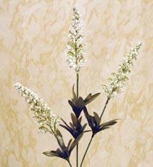 CLICK for close-up of Foxglove artificial flower stem (new window)